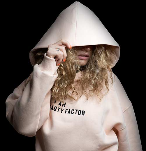 The Beauty Factor Oversized Hoodie